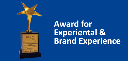 Award for Experiential and Brand Experience