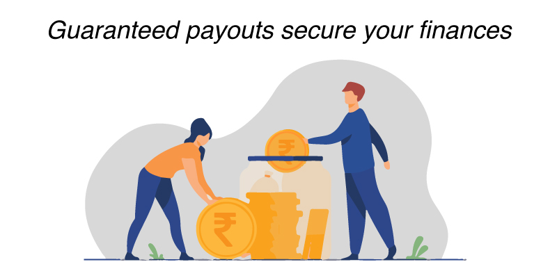 5 Ways Guaranteed Payouts Secure your Family's Needs