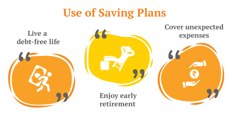 Effective money saving plans for future