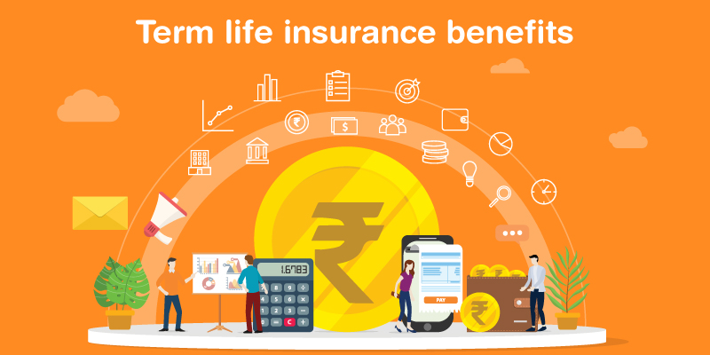 How can you benefit from term life insurance?