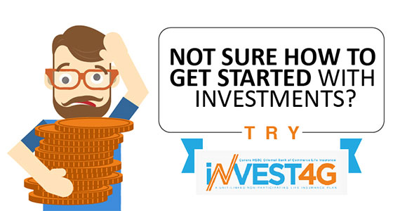 Not sure how to get started with investments? Try Invest 4G