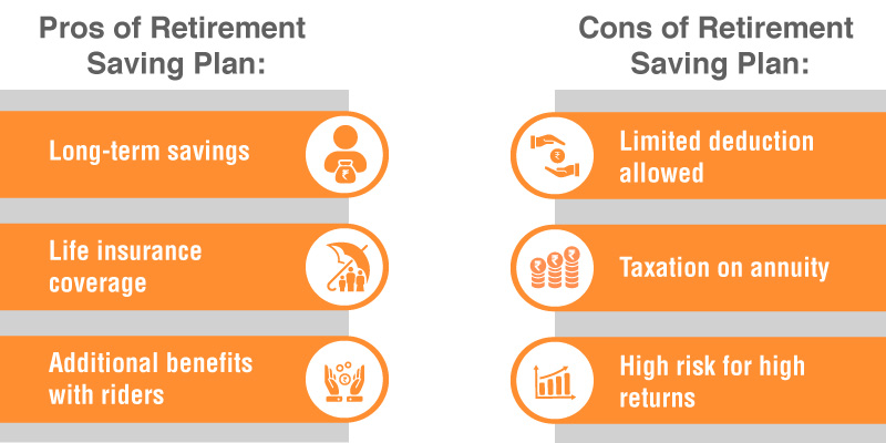 Pros and Cons of Retirement Savings Plan