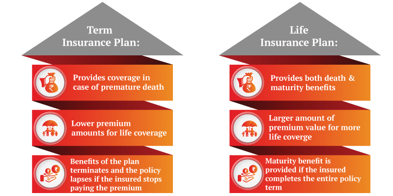 Should one buy life insurance or term insurance?