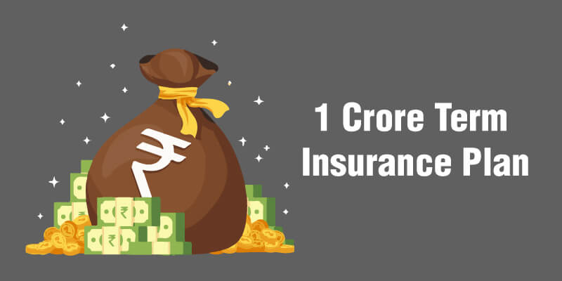 Which is the best term insurance plan for 1 crore in India